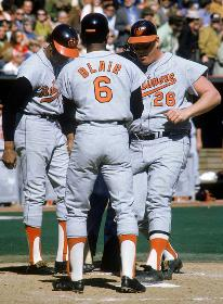 Frank Robinson, Paul Blair, Boog Powell